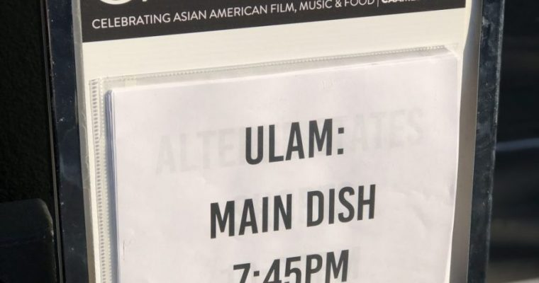 ULAM: Main Dish – Review (sort of)