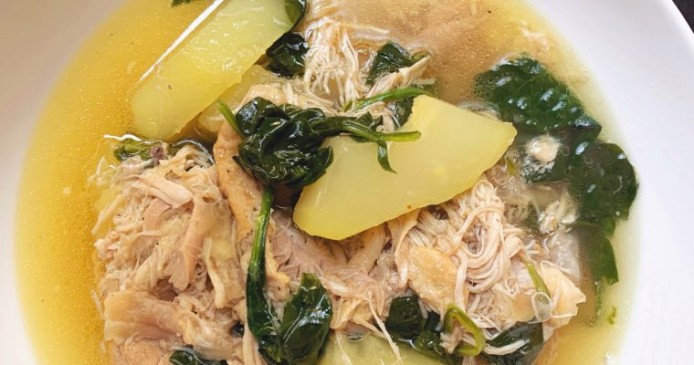 Tinolang Manok – Filipino Chicken Tinola Instant Pot Recipe