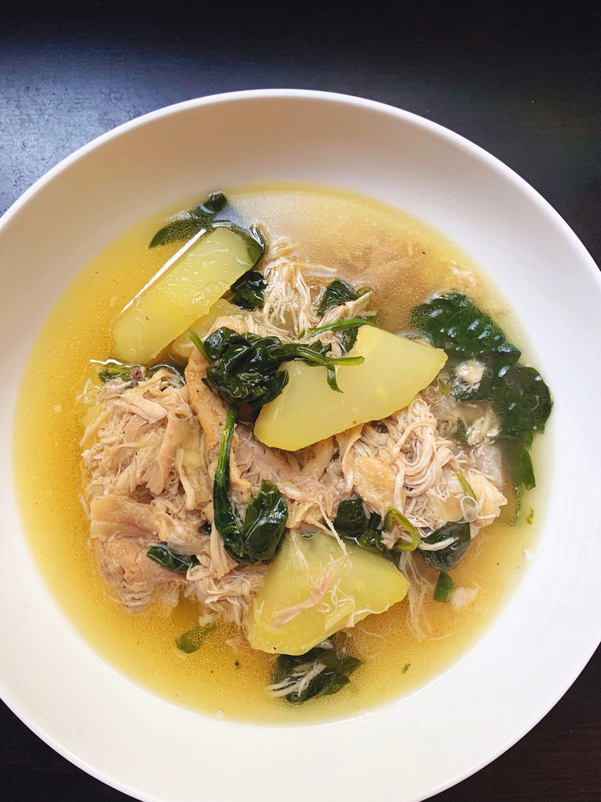 Tinolang Manok – Filipino Chicken Tinola Instant Pot Recipe