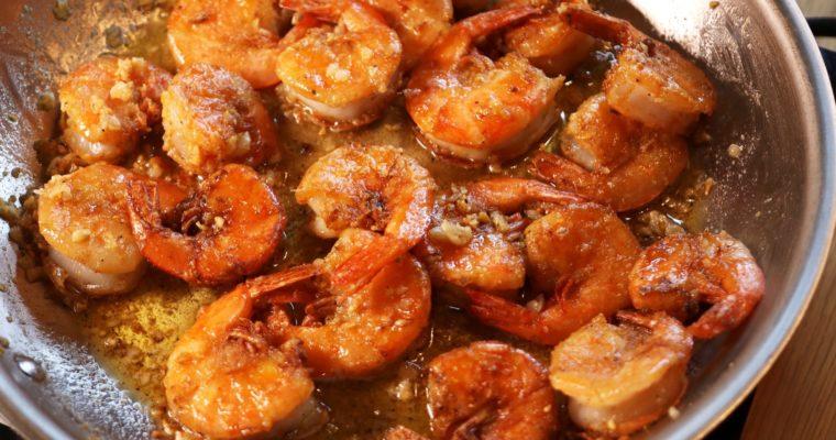 Garlic Shrimp!