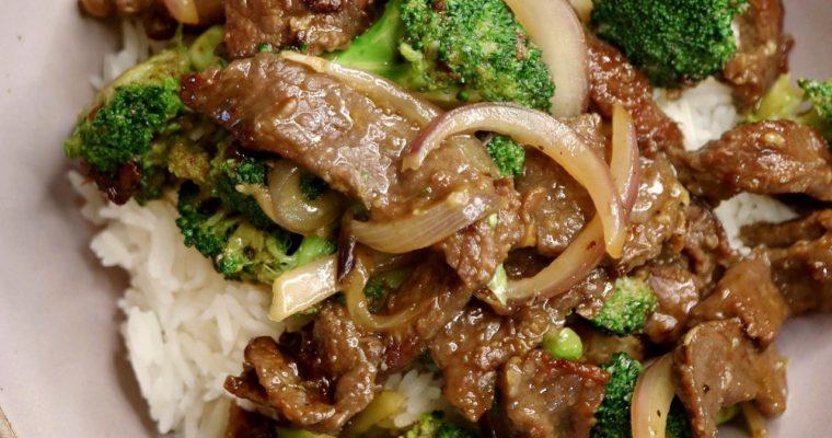 Beef Broccoli/Broccoli Beef